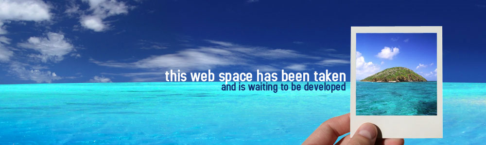 This webspace has been taken and is waiting to be developed